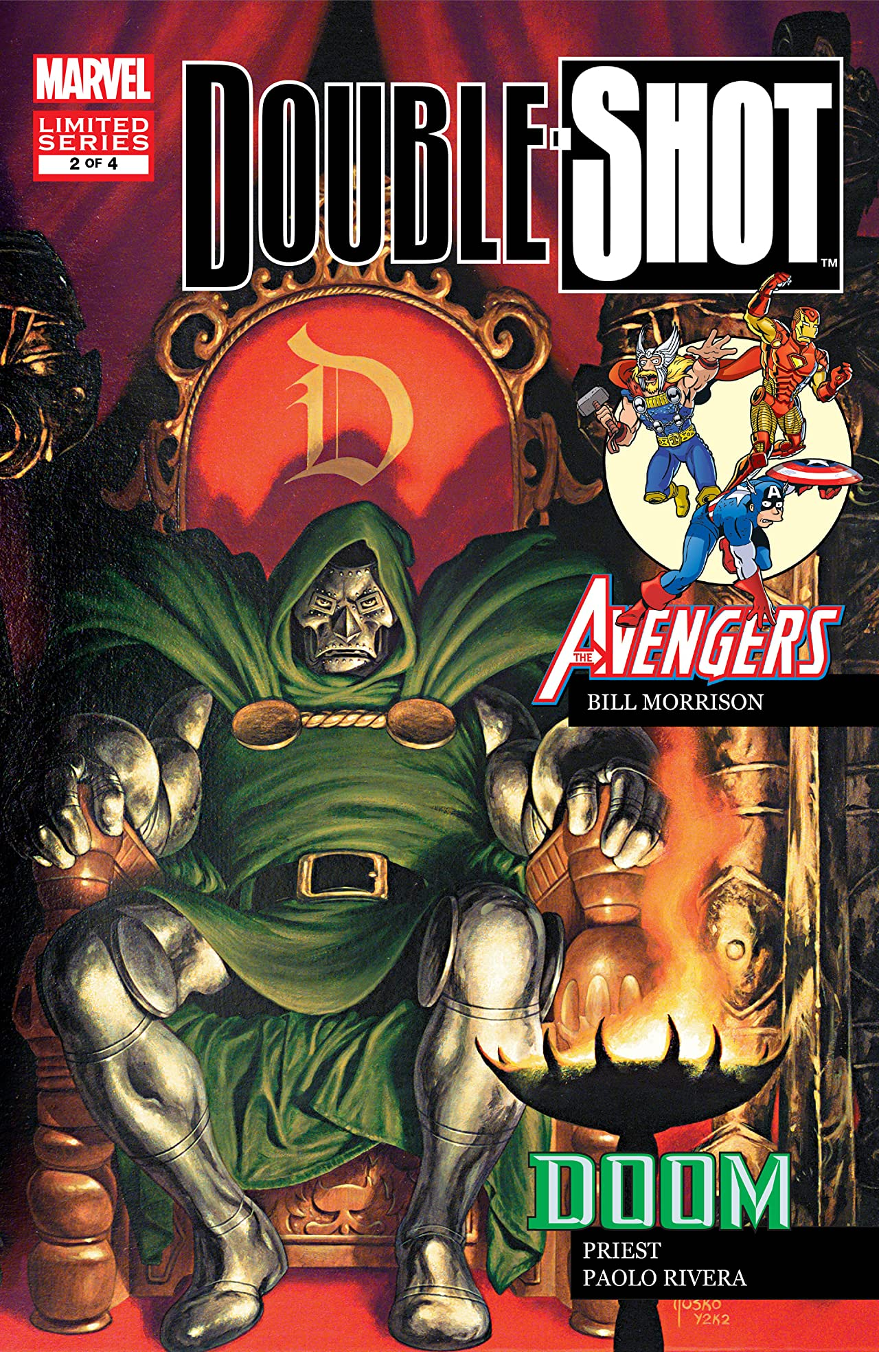 Marvel Double Shot (2003) #2 (of 4)