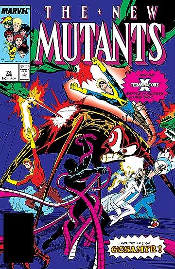 New Mutants (1983-1991) #74