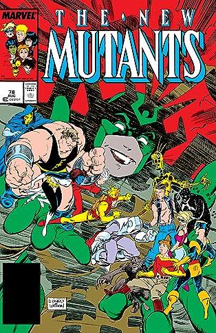 New Mutants (1983-1991) #78