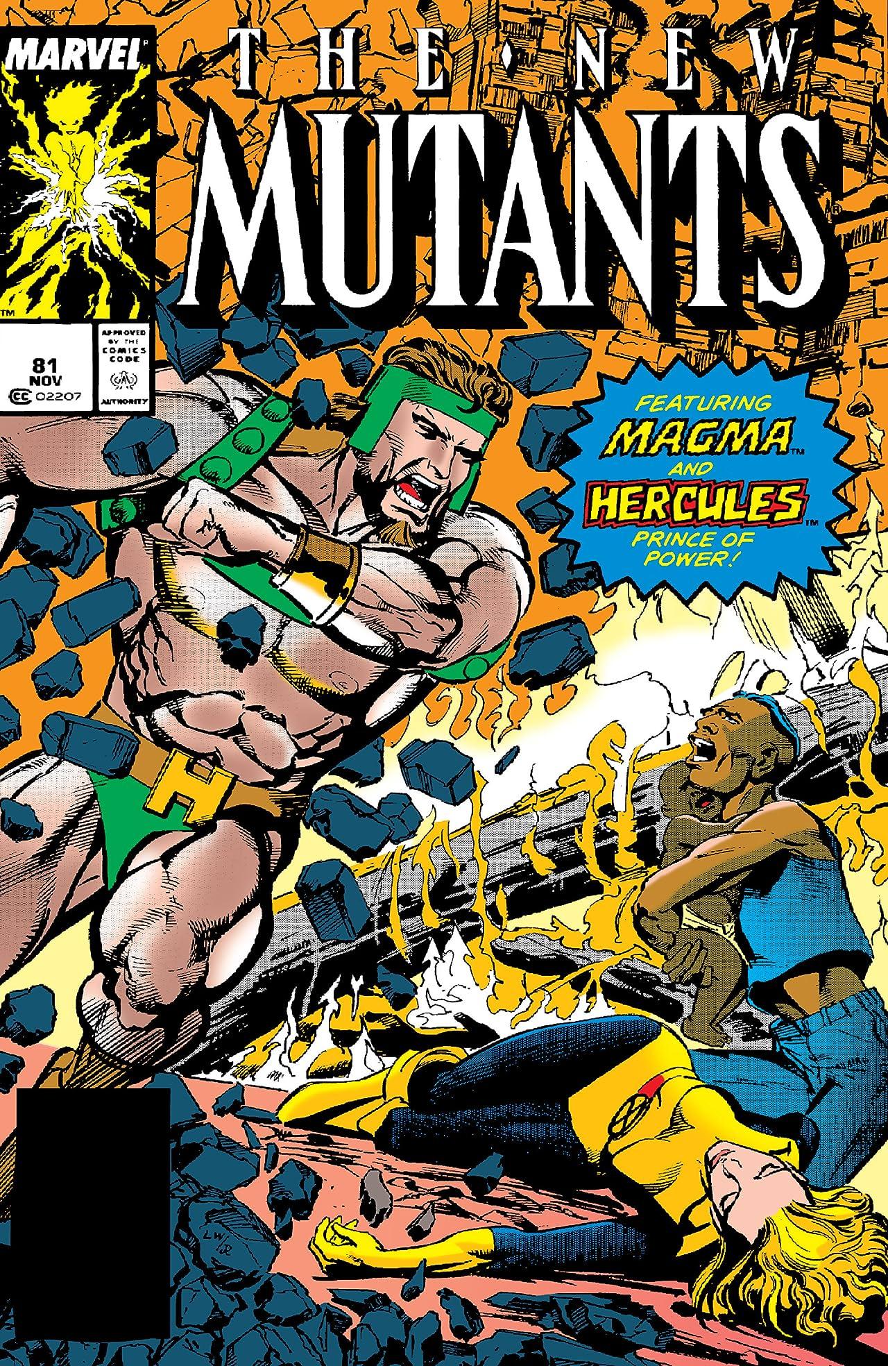New Mutants (1983-1991) #81