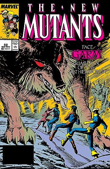 New Mutants (1983-1991) #82