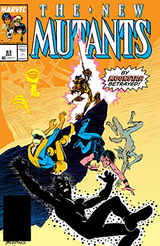 New Mutants (1983-1991) #83