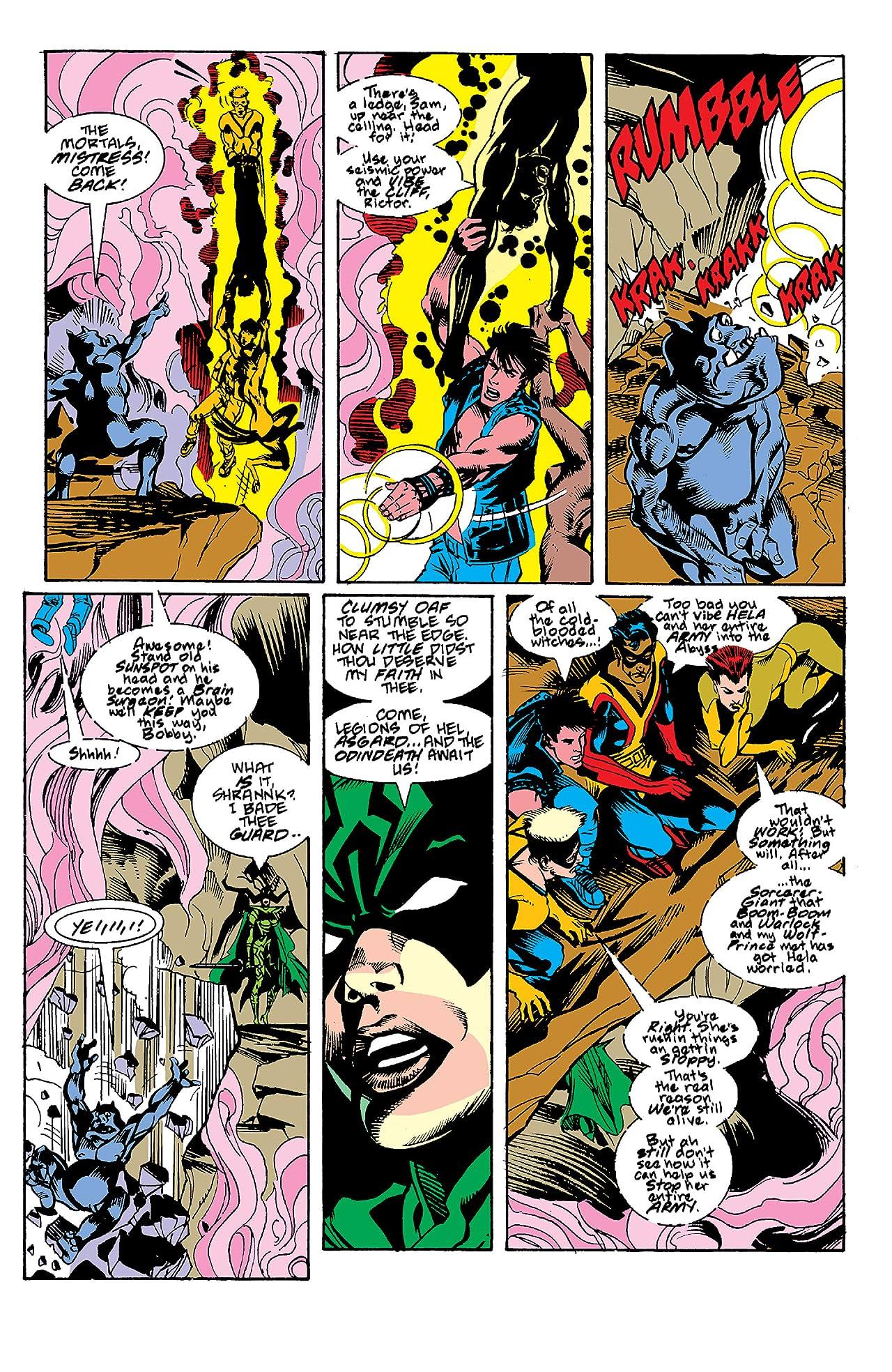 New Mutants (1983-1991) #84