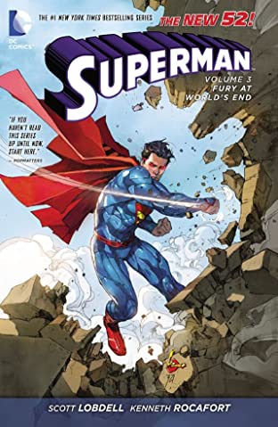Superman (2011-2016) Tome 3: Fury At the World's End