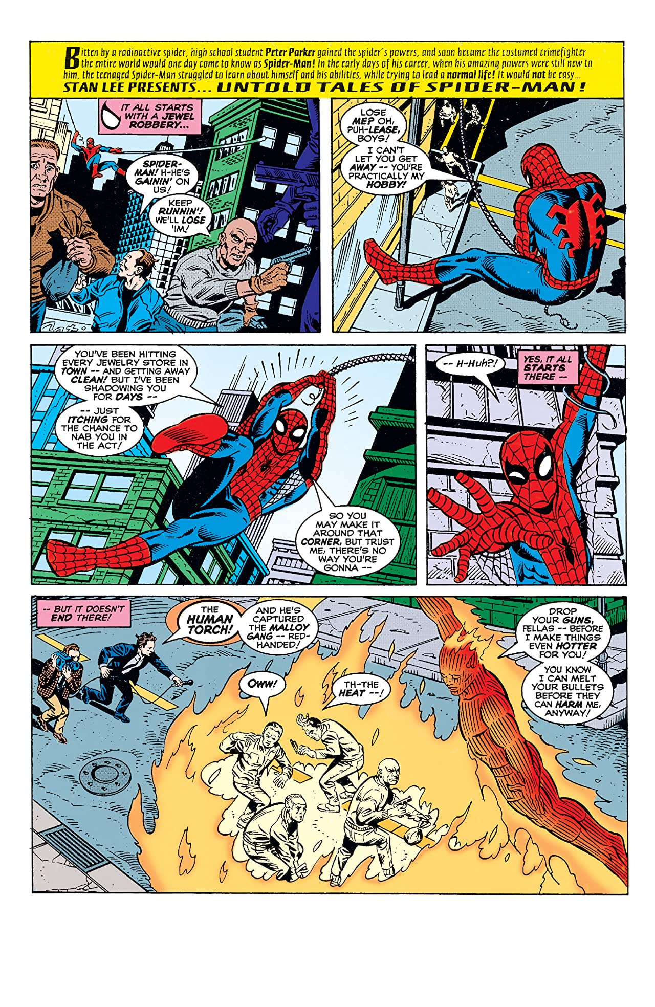 Untold Tales of Spider-Man Annual 1996 #1
