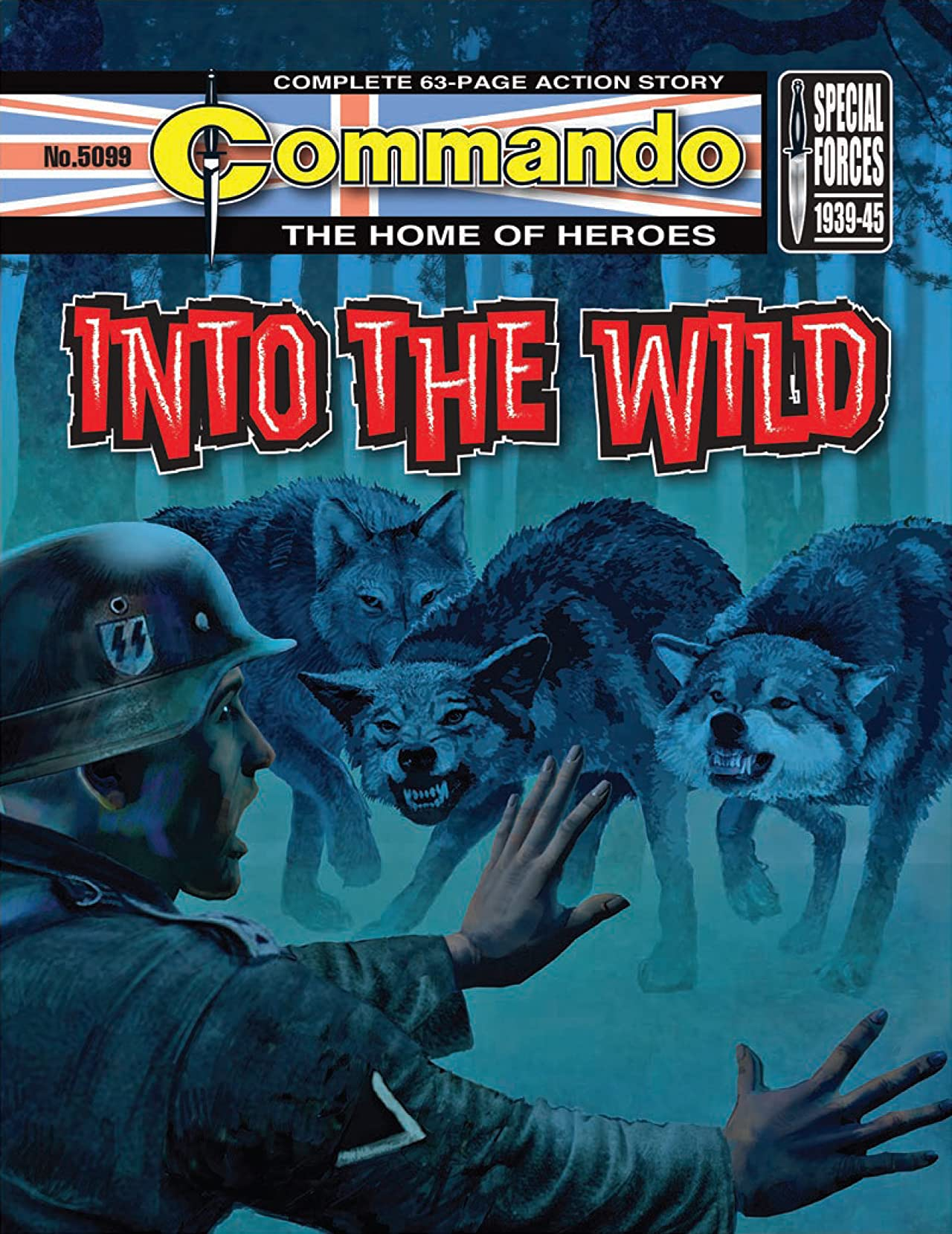 Commando #5099: Into The Wild