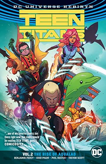 Teen Titans (2016-) Tome 2: The Rise of Aqualad