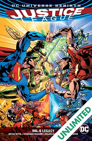 Justice League (2016-) Vol. 5