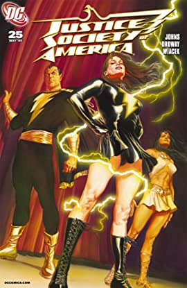 Justice Society of America (2007-2011) #25