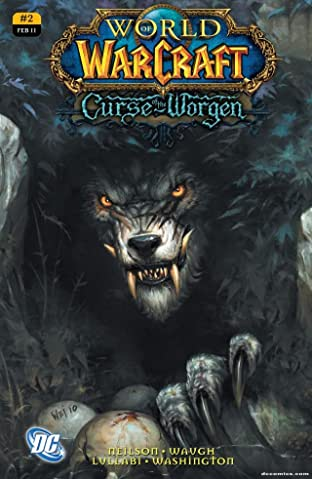 World of Warcraft: Curse of the Worgen #2 (of 5)