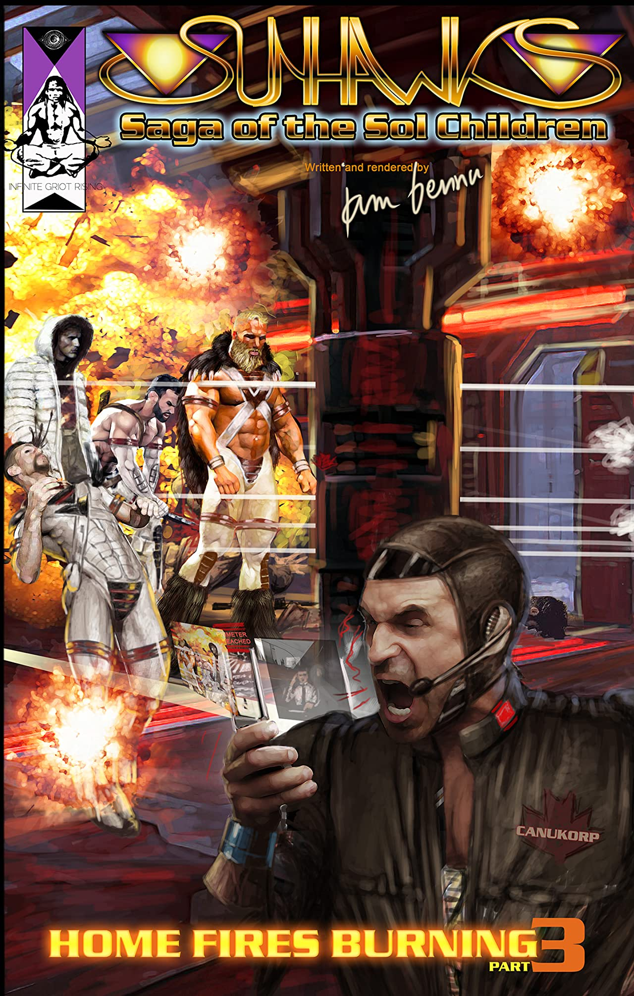 The Sunhawks Vol. 4: Homefires Burning Part 3