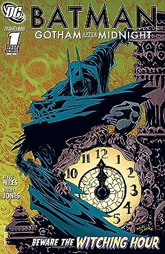Batman: Gotham After Midnight (2008-2009) No.1