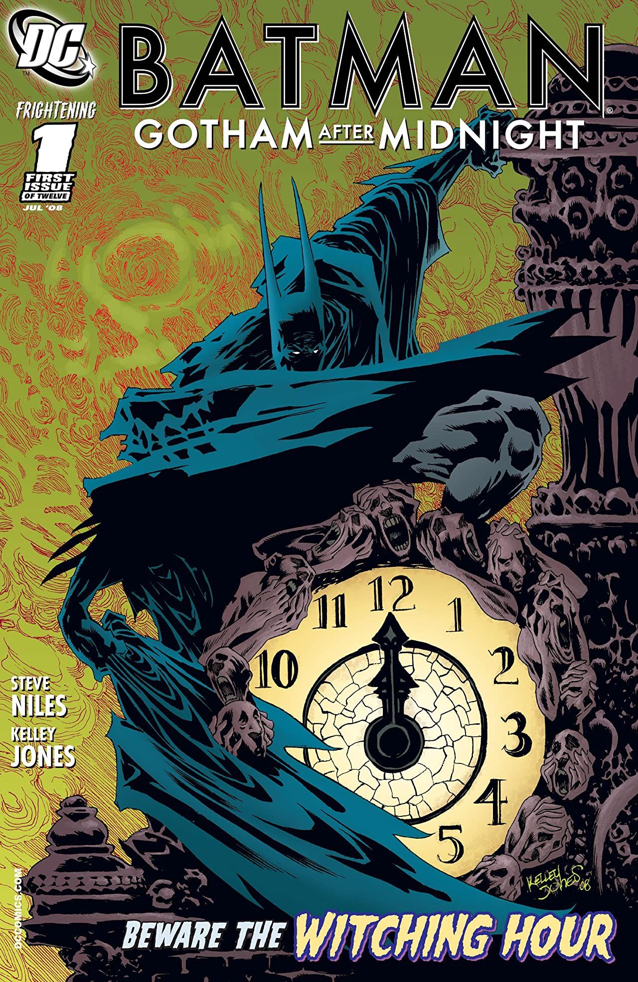 Batman: Gotham After Midnight (2008-2009) #1