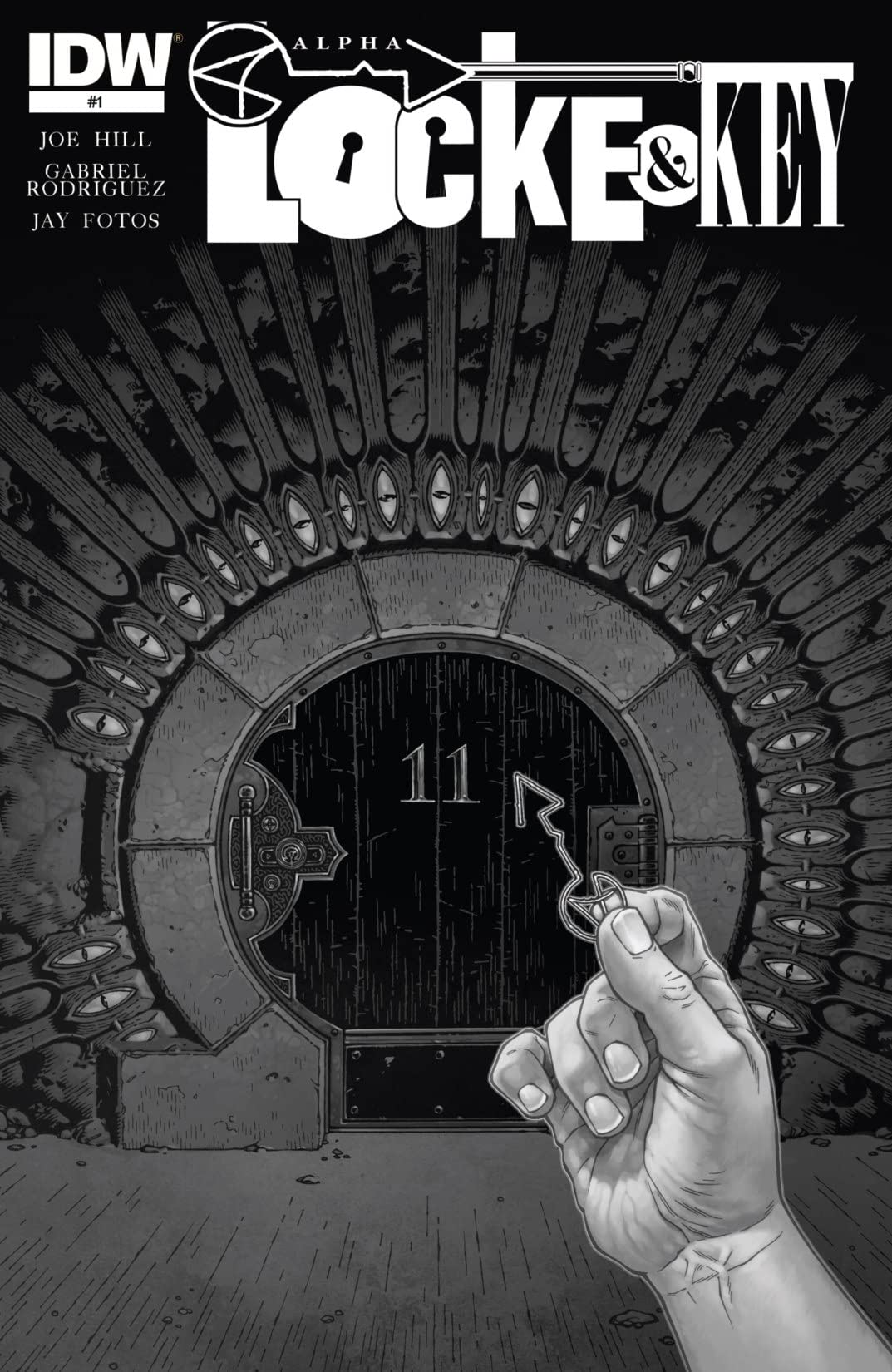 Locke & Key: Alpha - Black and White Exclusive #1 (of 2)