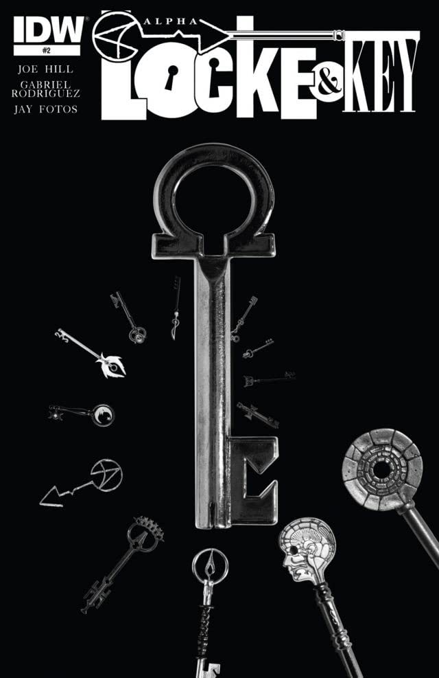 Locke & Key: Alpha - Black and White Exclusive #2 (of 2)