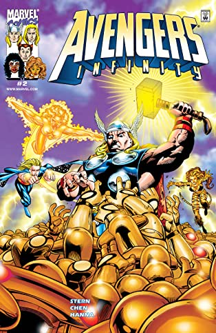 Avengers Infinity (2000) #2 (of 4)