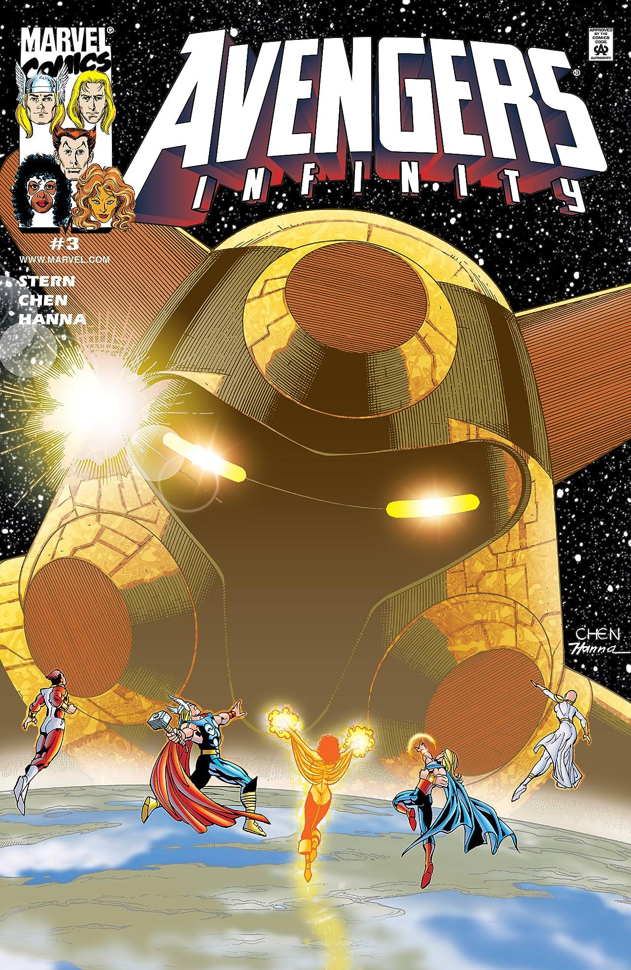 Avengers Infinity (2000) #3 (of 4)