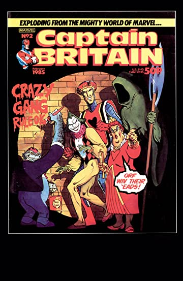 Captain Britain (1985-1986) #2