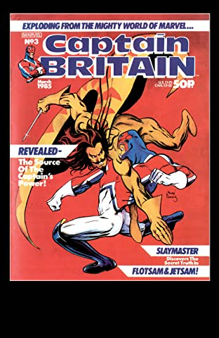 Captain Britain (1985-1986) #3