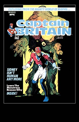 Captain Britain (1985-1986) #4