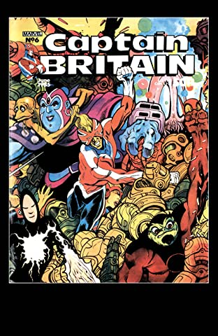 Captain Britain (1985-1986) #6