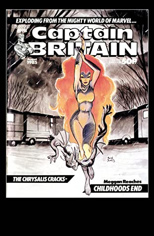 Captain Britain (1985-1986) #8