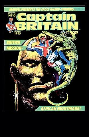 Captain Britain (1985-1986) #10