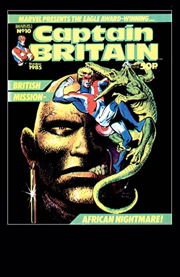 Captain Britain (1985-1986) #10
