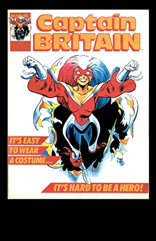Captain Britain (1985-1986) #13
