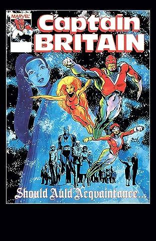 Captain Britain (1985-1986) #14