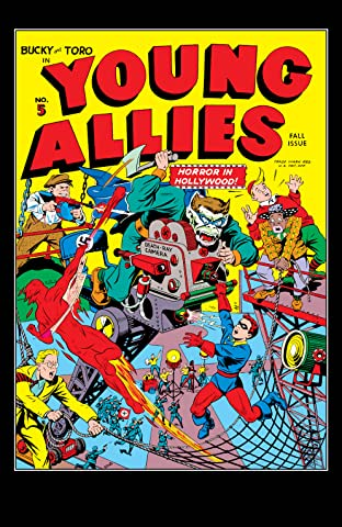 Young Allies Comics (1941-1946) #5