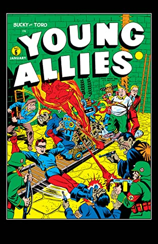 Young Allies Comics (1941-1946) #6