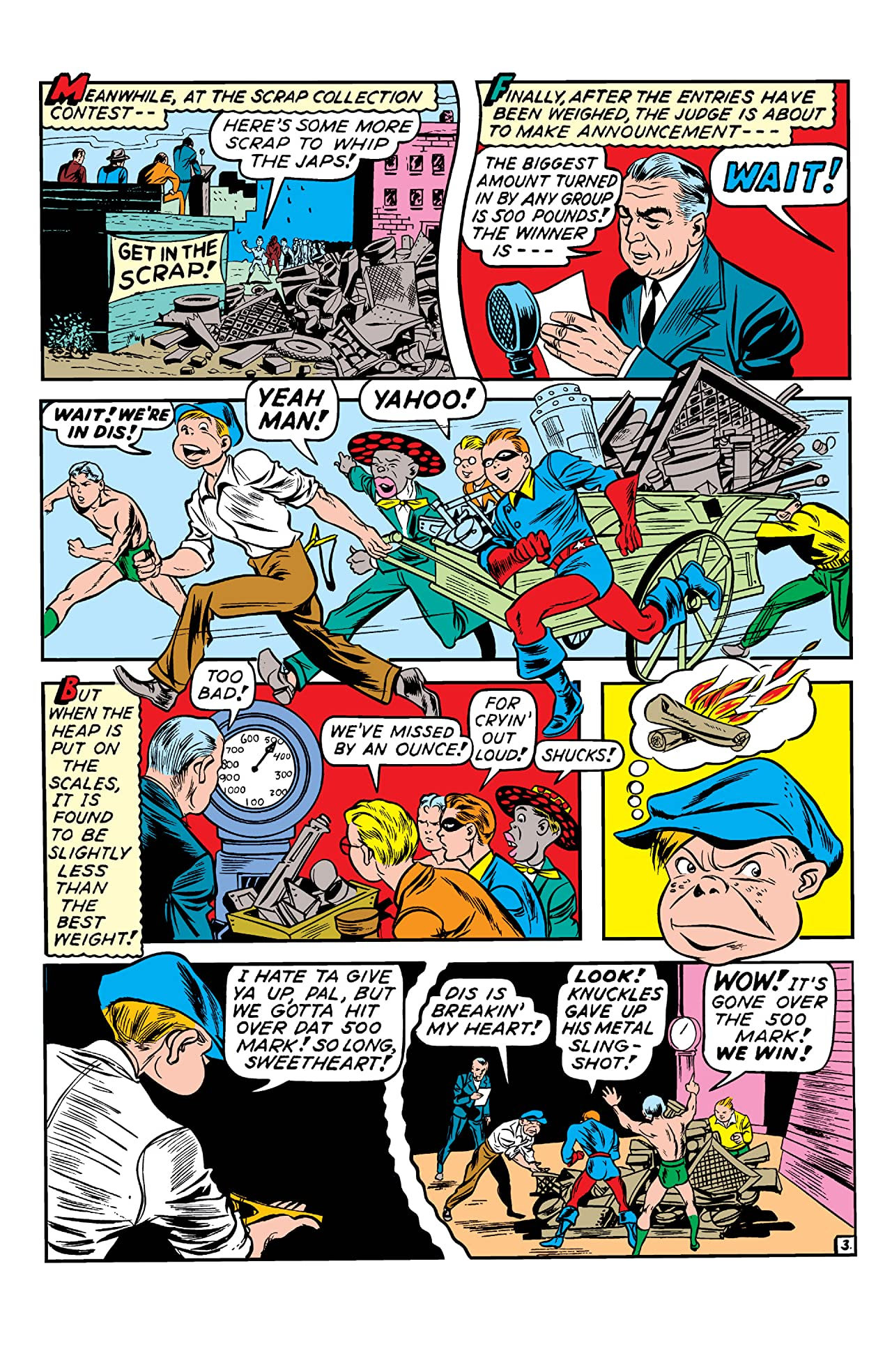 Young Allies Comics (1941-1946) #7