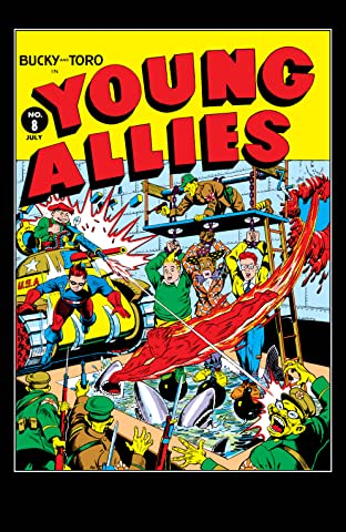 Young Allies Comics (1941-1946) #8
