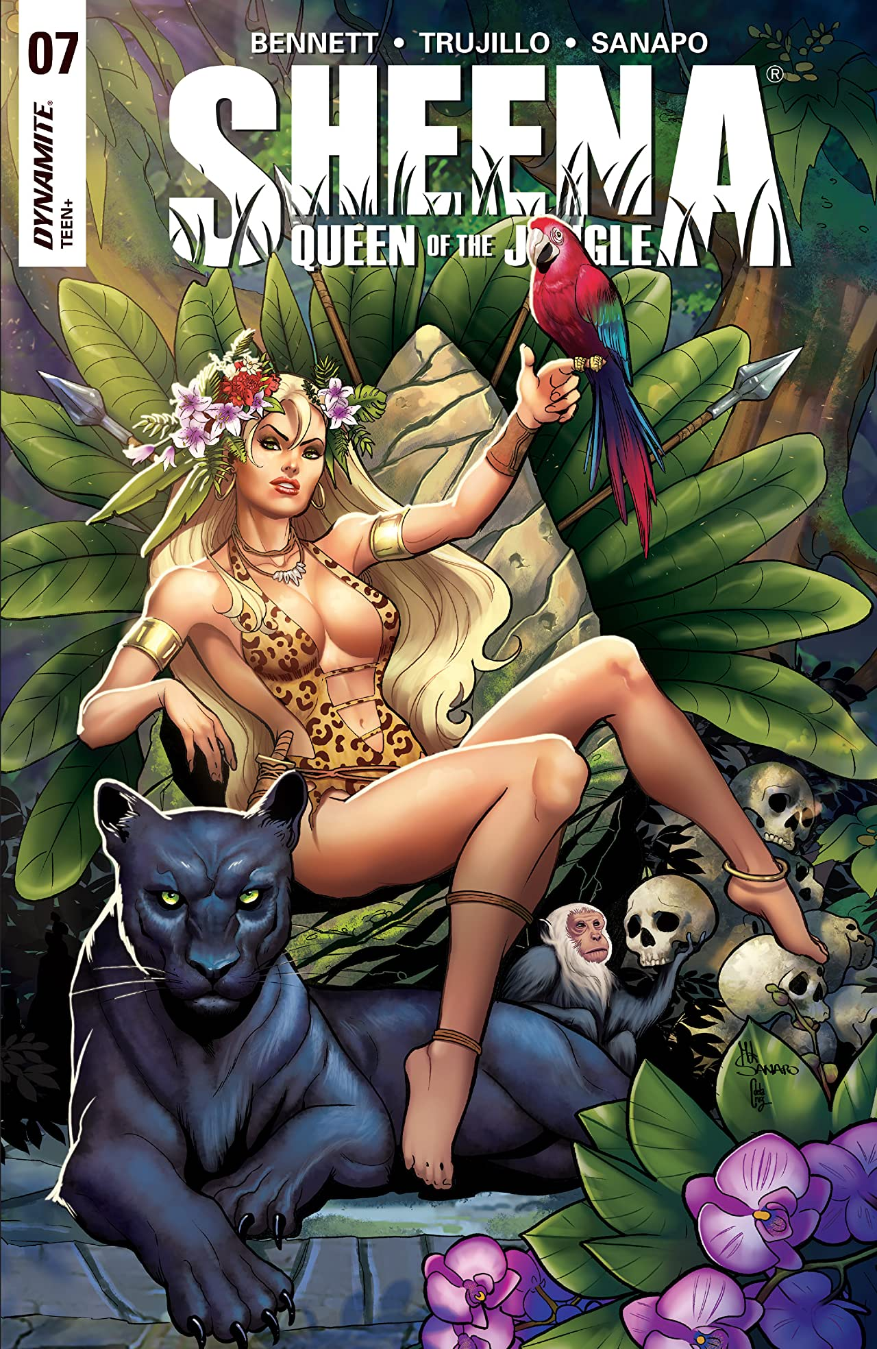 Sheena: Queen Of The Jungle #7