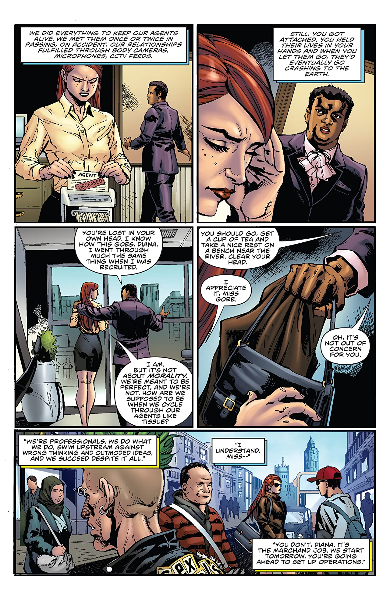Agent 47: Birth Of The Hitman #6