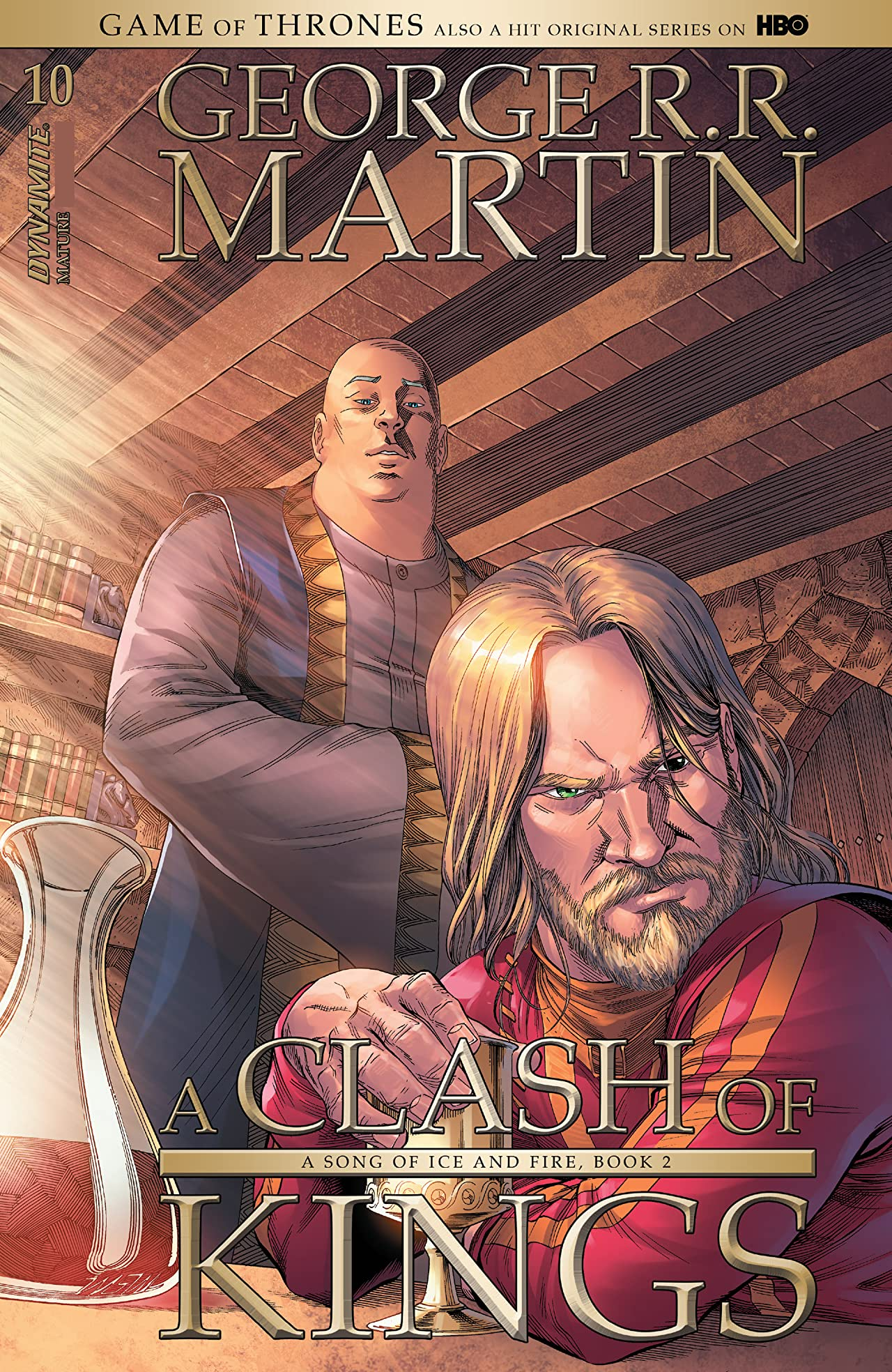 George R.R. Martin's A Clash Of Kings: The Comic Book #10