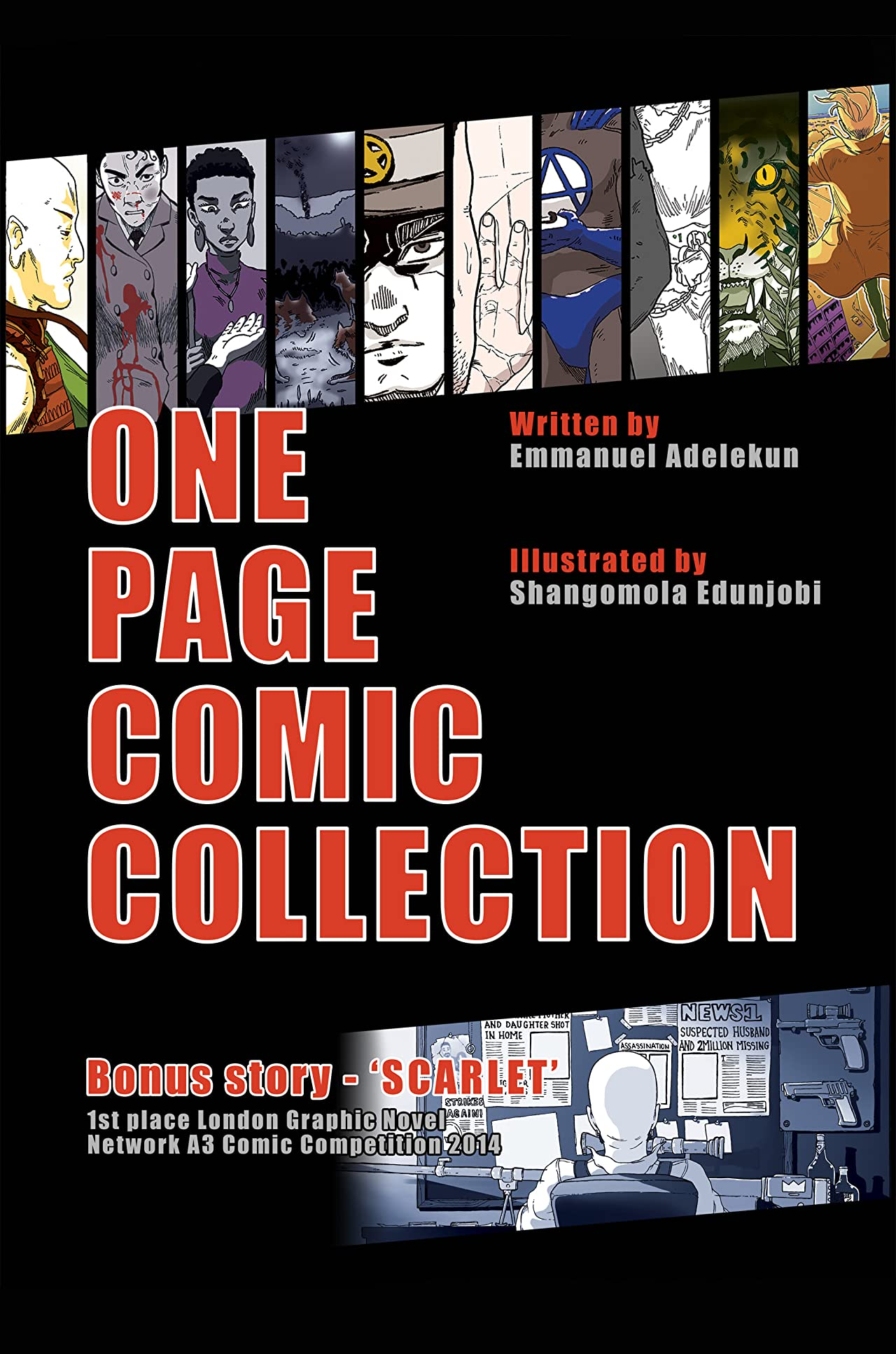 One Page Comic Collection Vol. 1