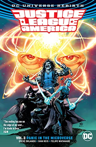 Justice League of America (2017-2018) Vol. 3: Panic in the Microverse