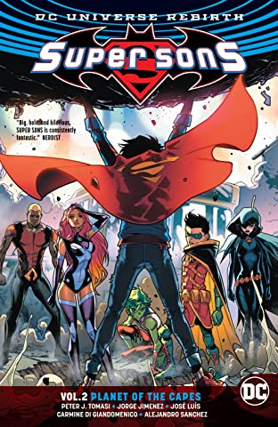 Super Sons (2017-) Tome 2: Planet of the Capes