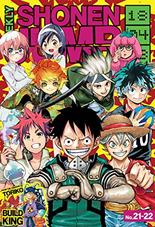 Weekly Shonen Jump Vol. 323: 04/23/2018