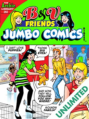B & V Friends Comics Digest #260