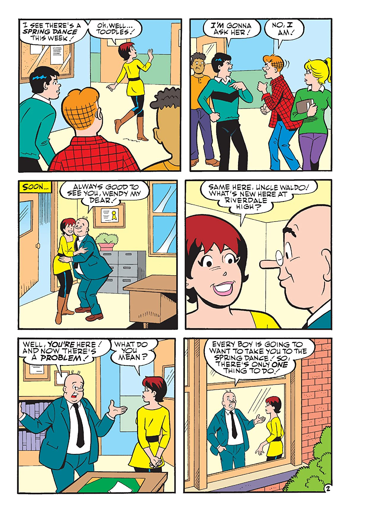 Archie and Me Comics Digest #6