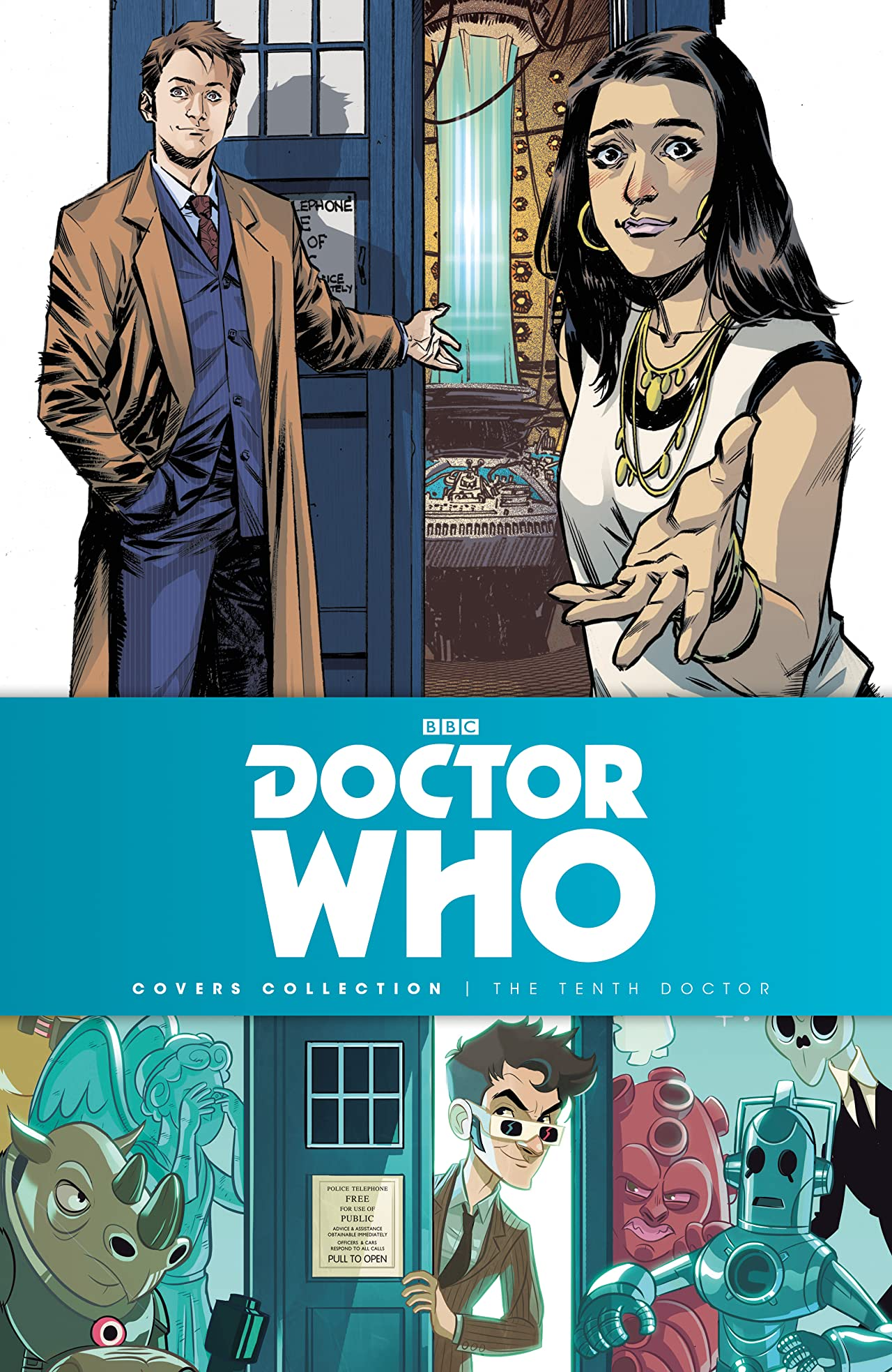 Doctor Who: The Tenth Doctor Covers Collection