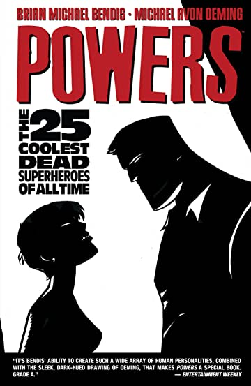 Powers (2004-2008) Tome 12: The 25 Coolest Dead Superheroes of All Time