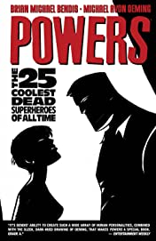 Powers (2004-2008) Vol. 12: The 25 Coolest Dead Superheroes of All Time