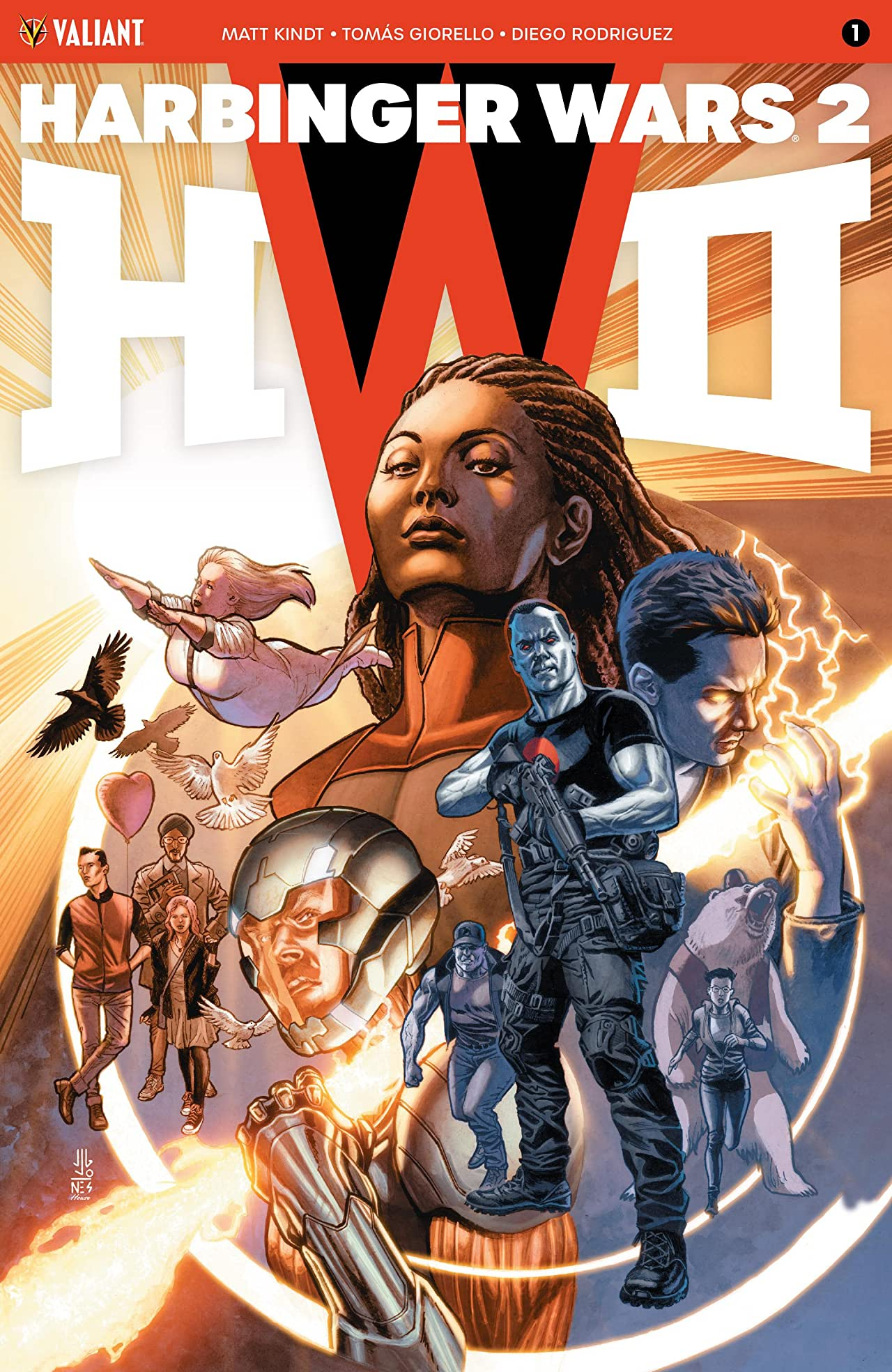 Harbinger Wars 2 No.1