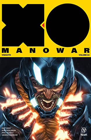 X-O Manowar (2017) Vol. 4: Visigoth Vol. 4