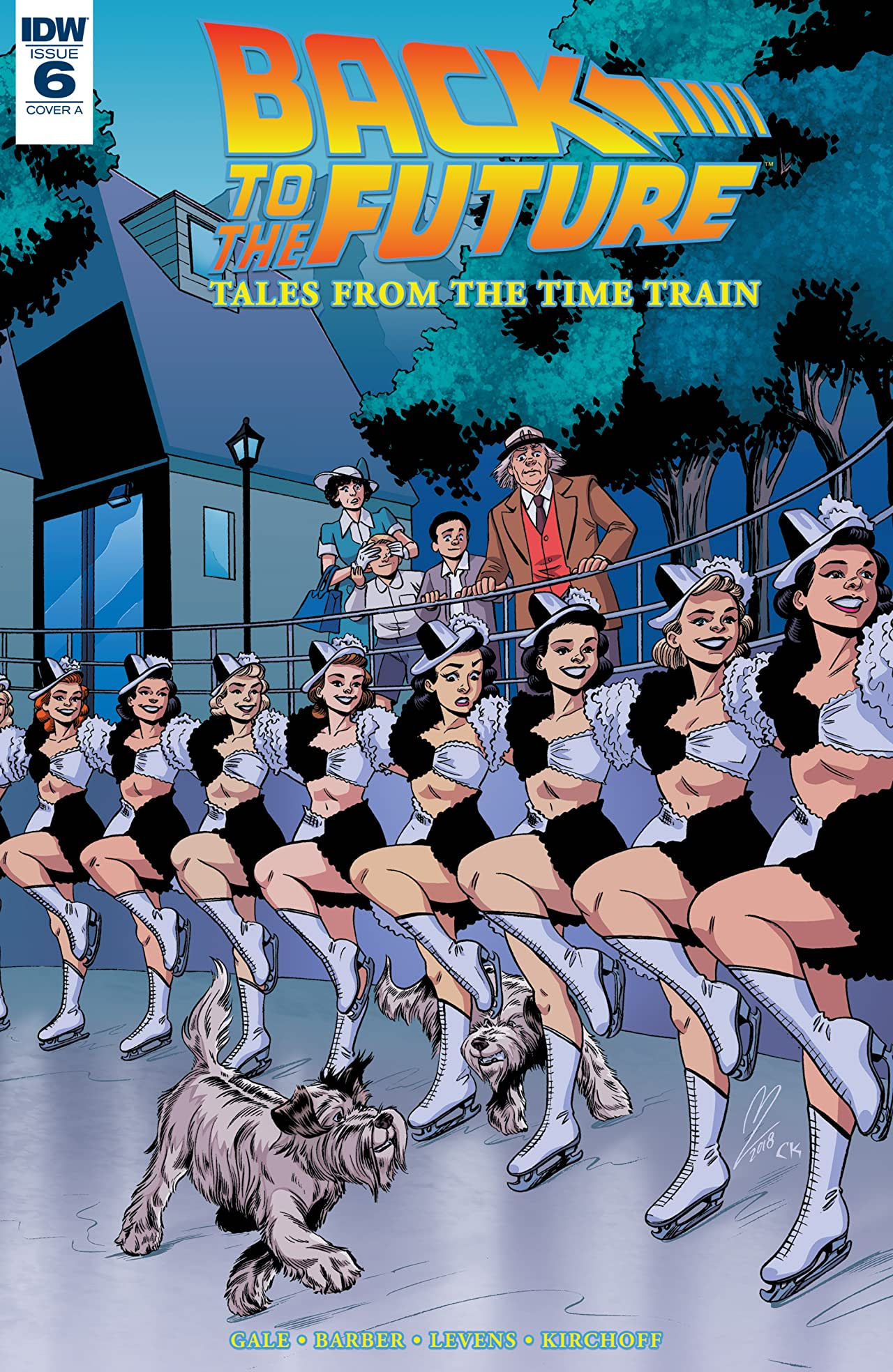 Back to the Future: Tales from the Time Train No.6 (sur 6)