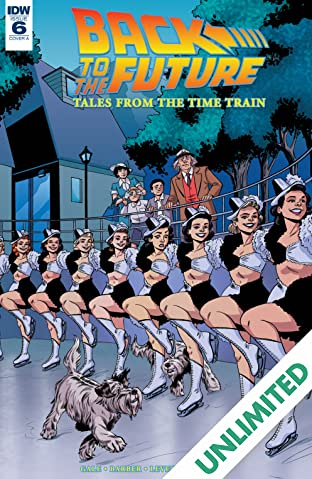 Back to the Future: Tales from the Time Train #6 (of 6)